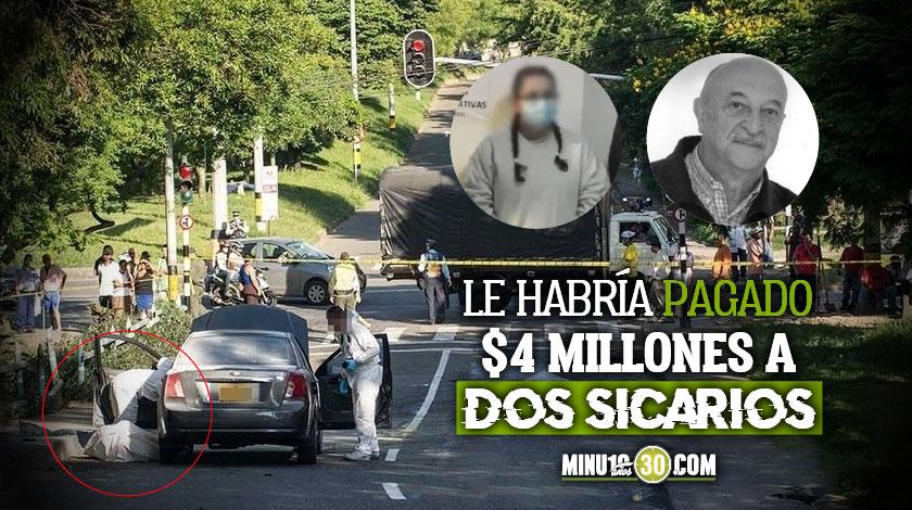 A la carcel companera sentimental de exprofesor universitario asesinado en Medellin