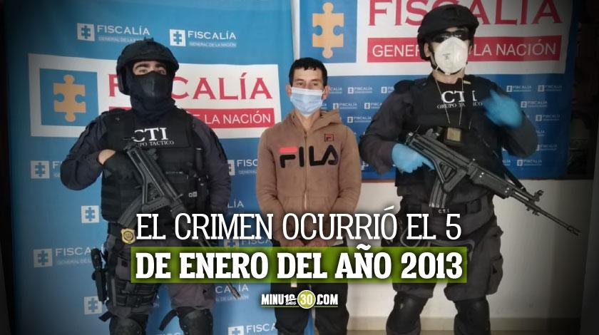 A la carcel hombre investigado por homicidio en la Comuna 13