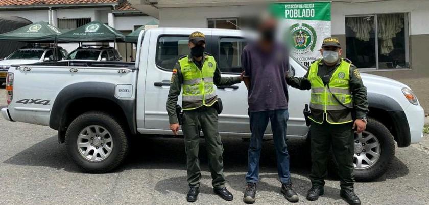 Recuperaron camioneta Medellín