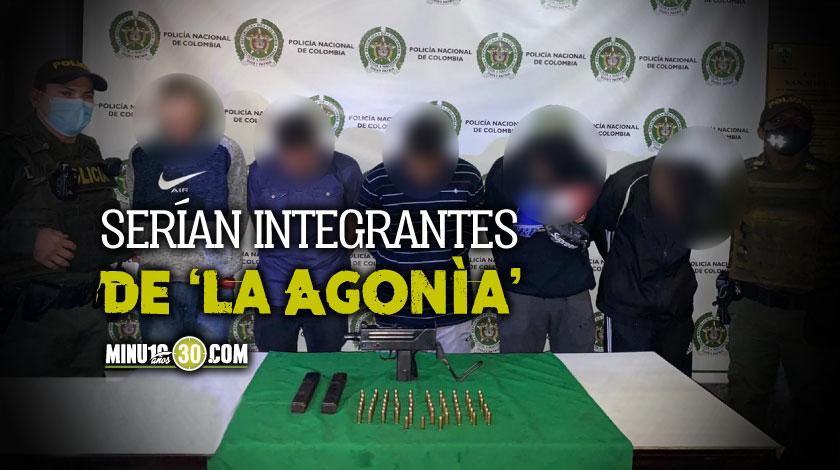 Capturados 5 integrantes de La Agon%C3%ADa en La 13