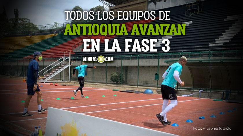 Leones FC tambien regreso a entrenamientos