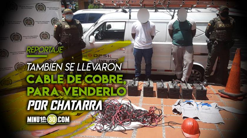 Muchos conchudos Se disfrazaron de empleados de telecomunicaciones y se robaron unas baterias en Los Colores