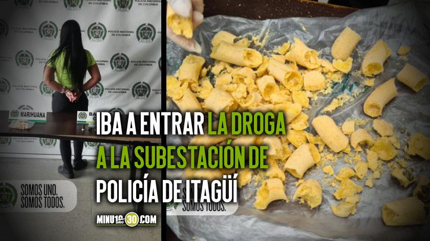 Persona capturada marihuana y base de coca incautada 1