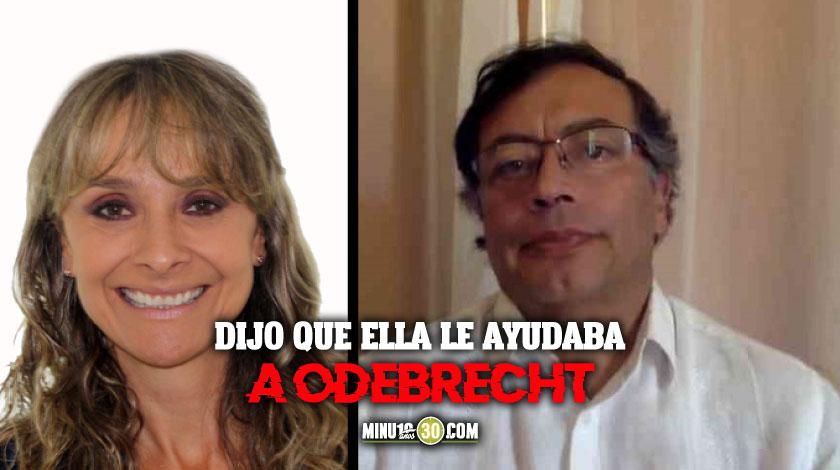 Por ponerse a calumniar a una periodista a Gustavo Petro le toco pedir perdon publicamente