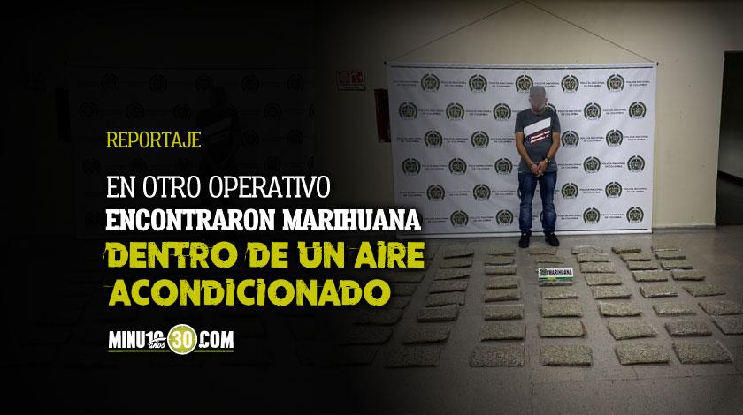 Que monton En Itagui cogieron a un senor llevando mas de 50 libras de marihuana en un