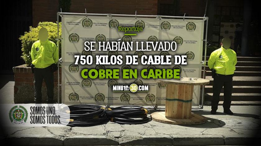 Que verguenza Delincuentes se robaron unos cables que iban a ser utilizados en unas UCI