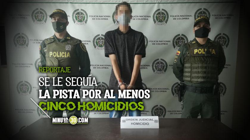Uno menos Cogieron en Itaguia La Chinga posible implicado de un triple homicidio en La Estrella