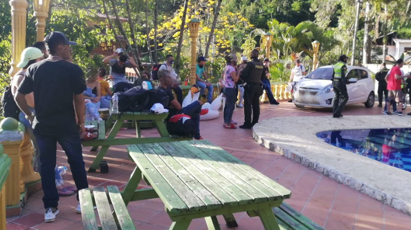 sancionados por rumba en fica de copacabana 1