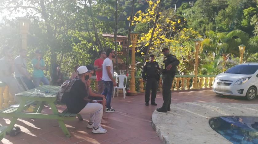sancionados por rumba en fica de copacabana 2