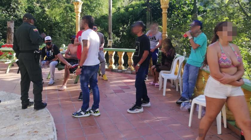 sancionados por rumba en fica de copacabana 6