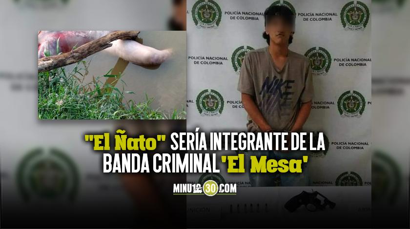 A la carcel alias Boqui investigado por secuestro y homicidio de un joven en Bello