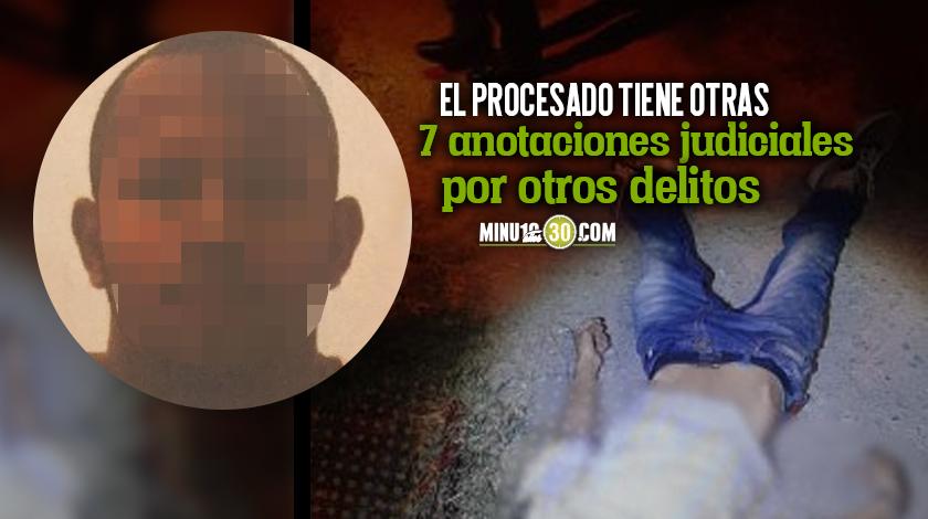 A prision hombre investigado por homicidio de un menor de edad en el occidente de Medellin