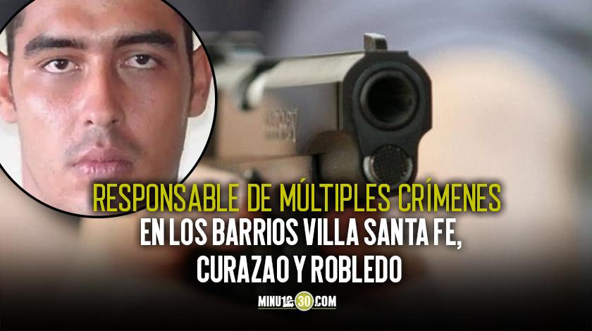 Alias La Plaga Curazao Medellin exparamilitar Robledo Occidente Crimenes Fiscalia