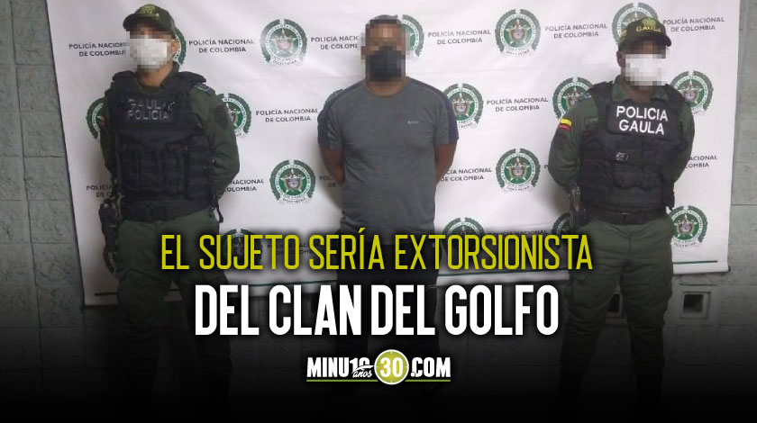 Cayo Juancho en el Alto de las Palmas criminal requerido con circular azul de la Interpol