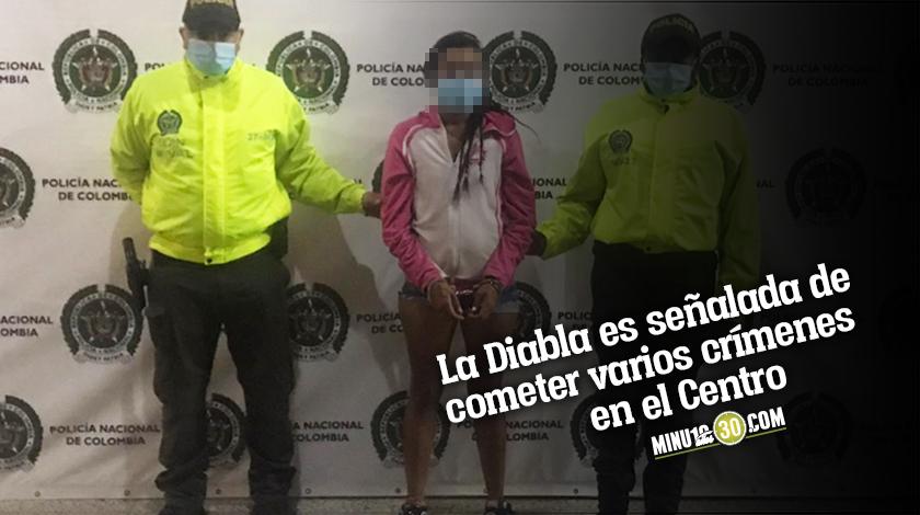 Cayo La Diabla quien presuntamente participo en un doble homicidio en el Centro de Medelln