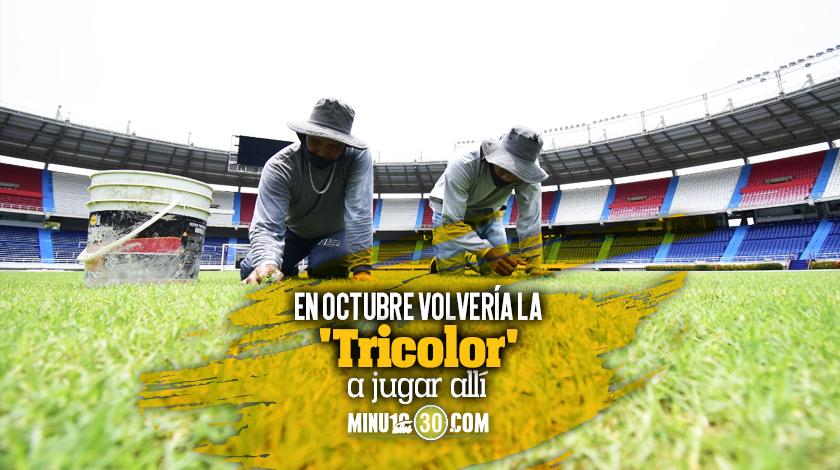 Como una uvita Estadio de Barranquilla se pone a punto para volver a recibir a la Seleccion Colombia