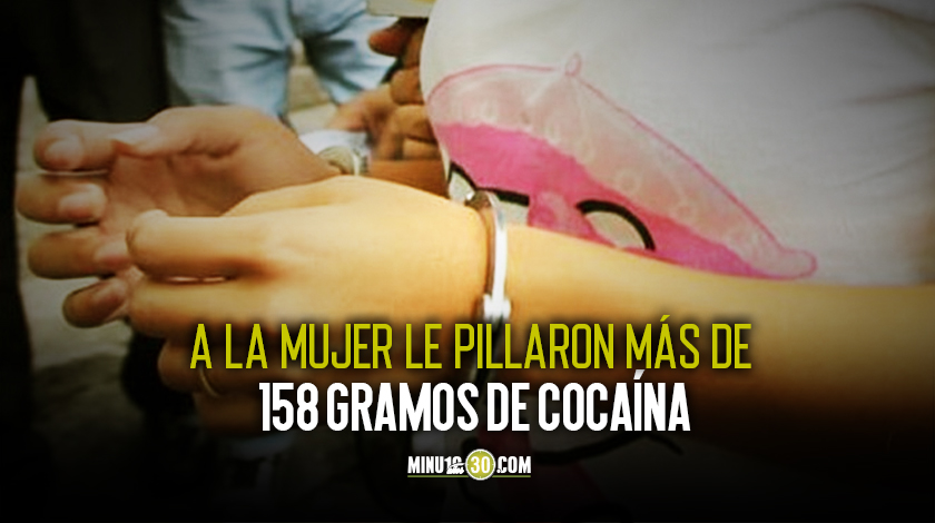 Condenada extranjera por traficar cocaina