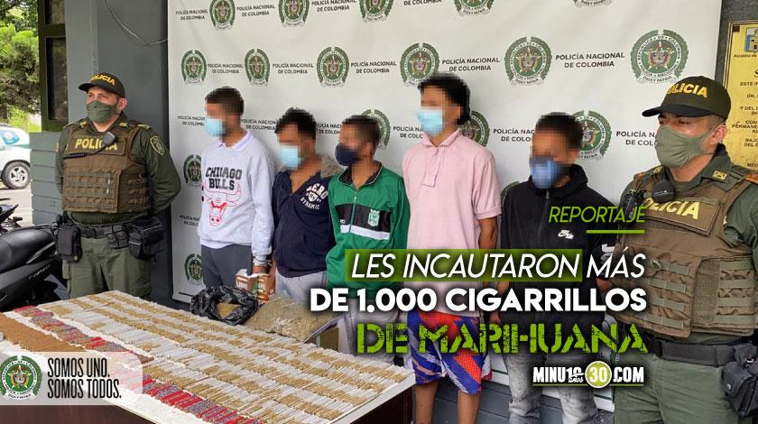 Les cayo la ley En San Javier capturaron a cinco personas mientras organizaban la droga al menudeo