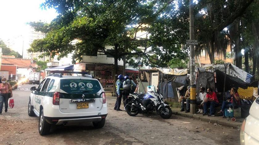Operativos de la policia en La America Medellin