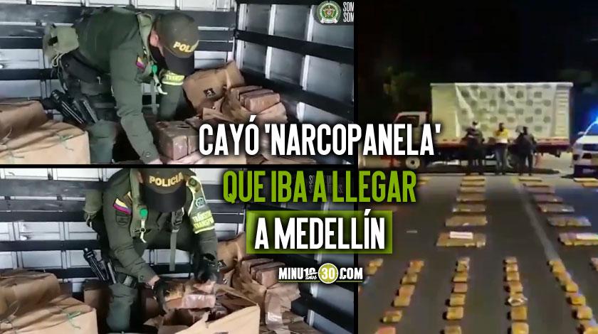 Panela llega de Marihuana iba a llegar a Medellin desde el Cauca