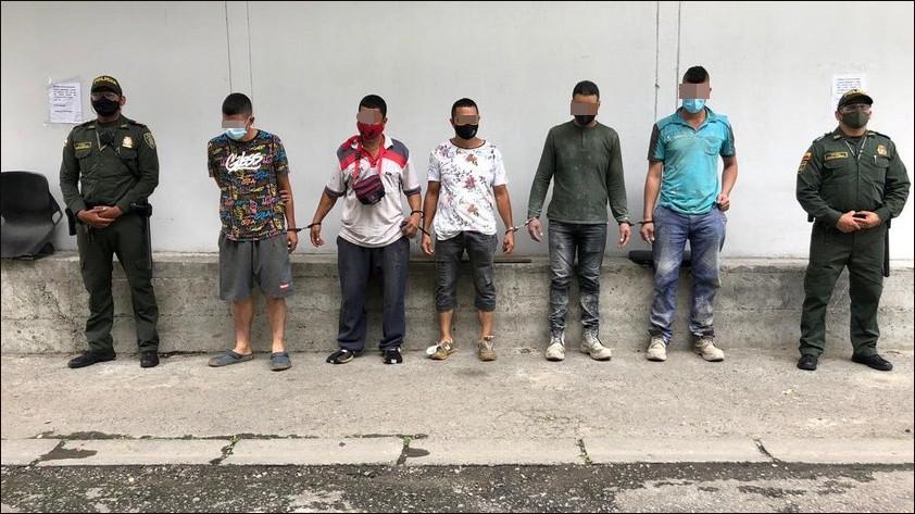 capturados contruccion ilegal el pinal