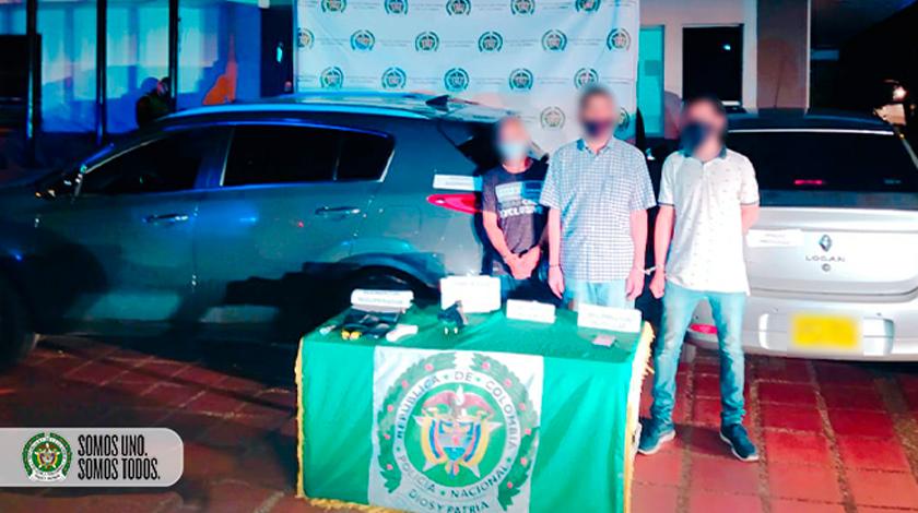 capturados policia 15 agosto