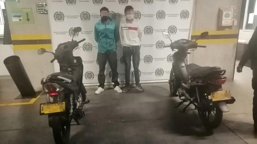 Capturados por hurto de moto en Buenos Aires