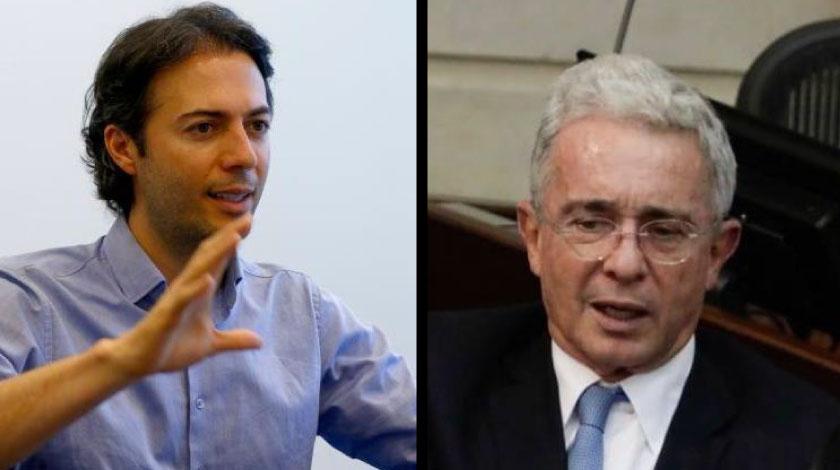 """""""No suelo trinar sobre Uribe"""", Daniel Quintero expresa su solidaridad con el expresidente"""