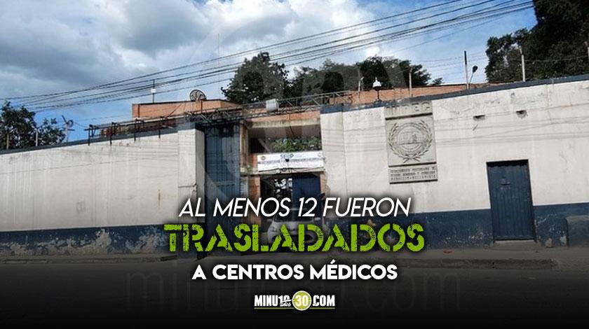 25 heridos dejo una rina en el pabellon 11 de la carcel Bellavista