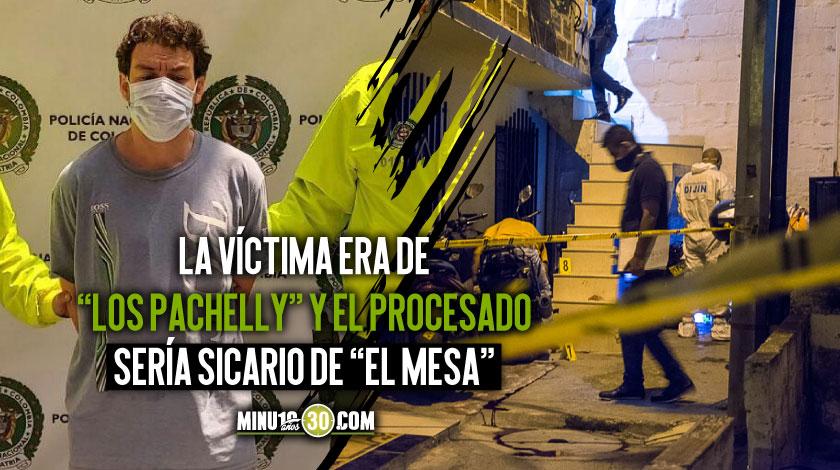 A la carcel alias el Rolo presunto jefe de sicarios de estructura criminal de El Mesa