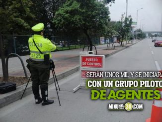 Cambio de Policia de Transito a agentes civiles Bogota capital ciudad