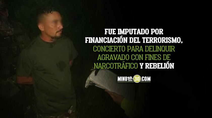 Cayo alias Colombiano presunto cabecilla del ELN