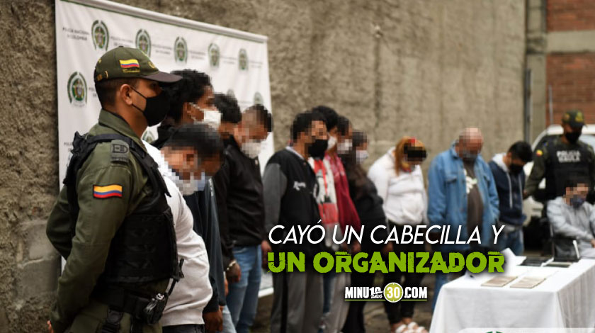 Duro golpe Autoridades capturaron a 27 miembros de los Joaquinillos y los Betania en Medellin