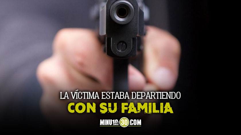 Mataron a bala a hombre en Guayabal