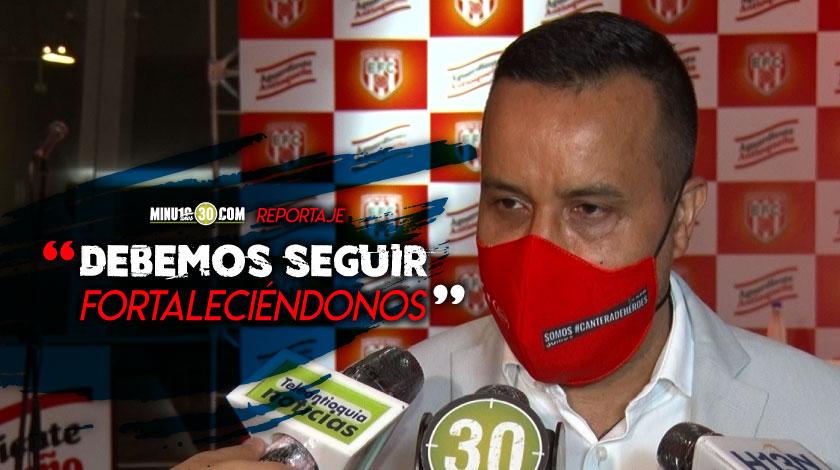 Envigado FC anuncio este jueves la llegada de un nuevo patrocinador
