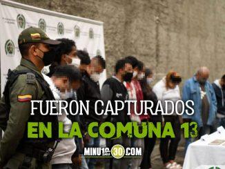 Eso es de una Ya estan presos los 13 presuntos integrantes de Los Betania capturados en Medellin