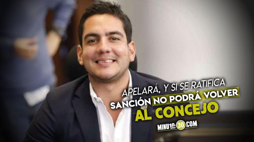 Por un contrato con el Tecnologico de Antioquia cuando era candidato Alex Florez pierde investidura