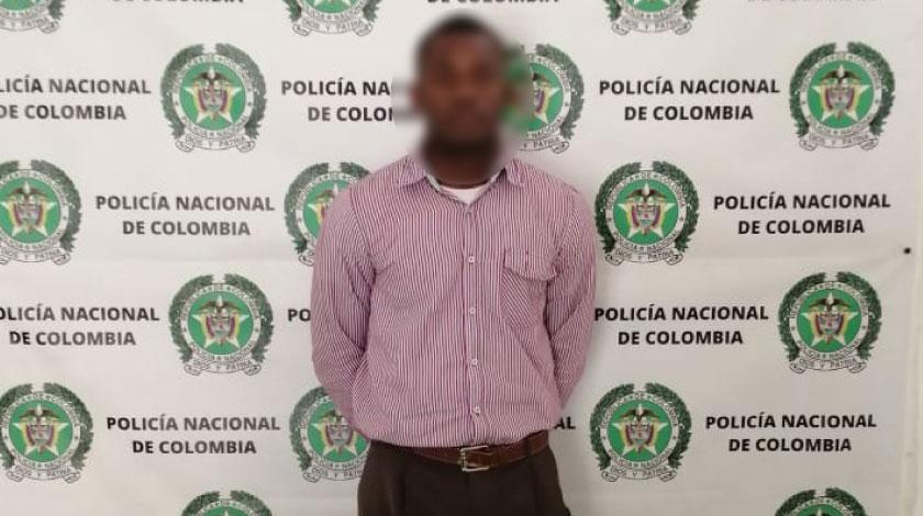 Sujeto capturado en Caribe Medellin noticias