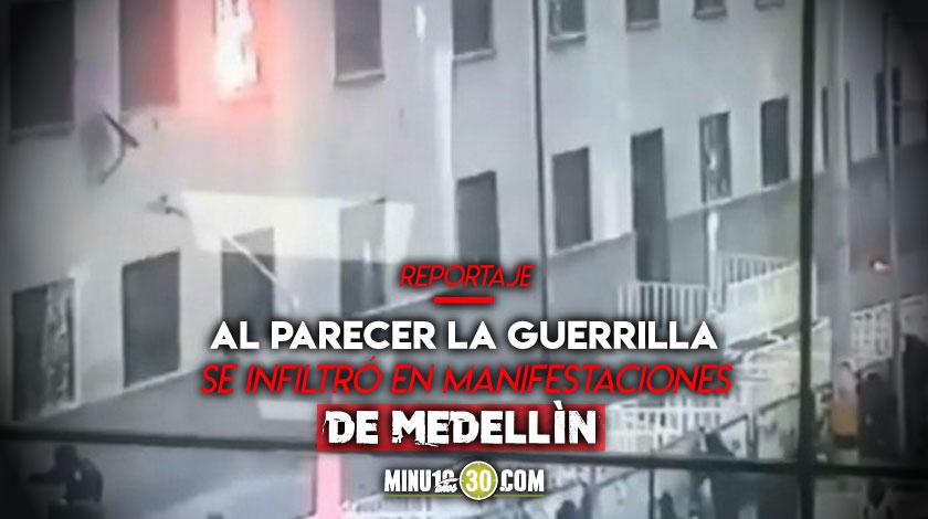 Tremendo Daniel Quintero confirma que tenian informacion de que el ELN queria incendiar el comando de Policia