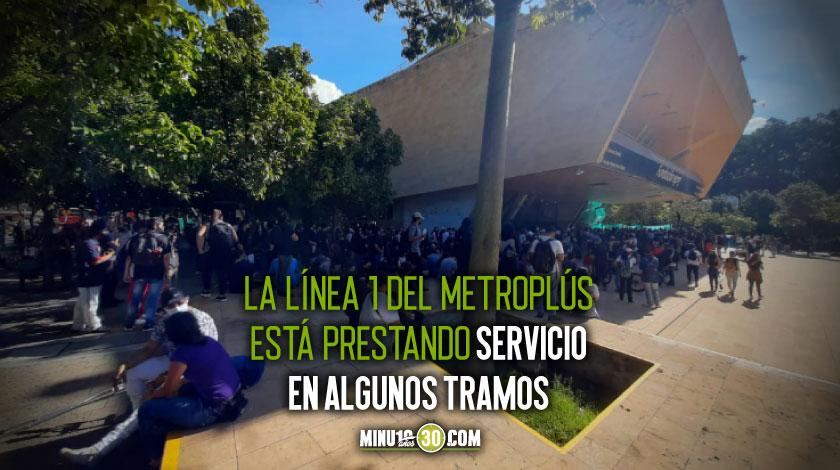 planton en el Parque de los Deseos de Medellin