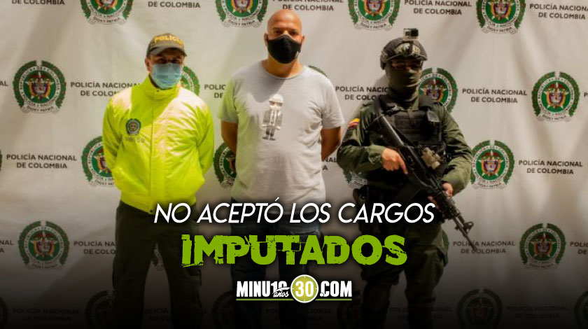 A la carcel presunto cabecilla del grupo delincuencial La Terraza que tiene injerencia en Medellin