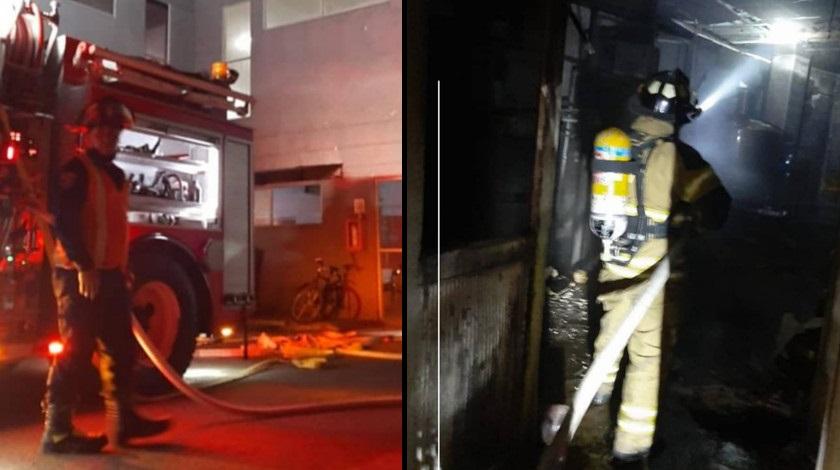Bomberos atienden incendio en el municipio de Sabaneta Antioquia