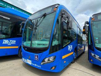 Buses de Transmilenio Bogota noticias
