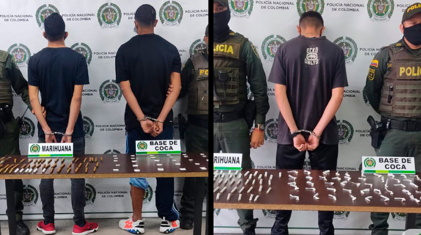 Capturado en Itagui con dosis de droga noticias