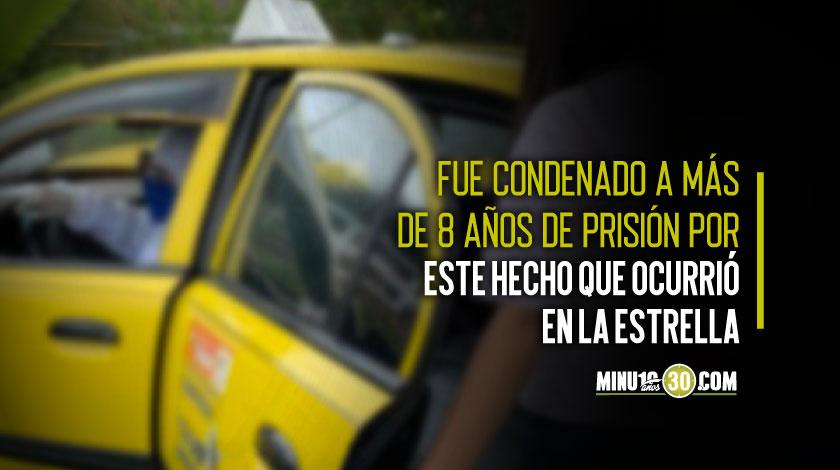 Capturado un taxista para cumplir sentencia por abusar de una mujer en estado de embriaguez