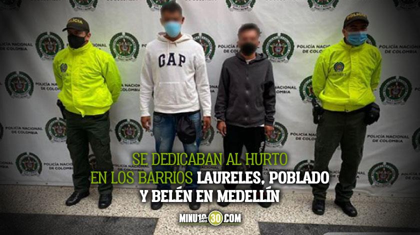 Capturados dos integrantes del grupo delincuencial comun organizado la vina