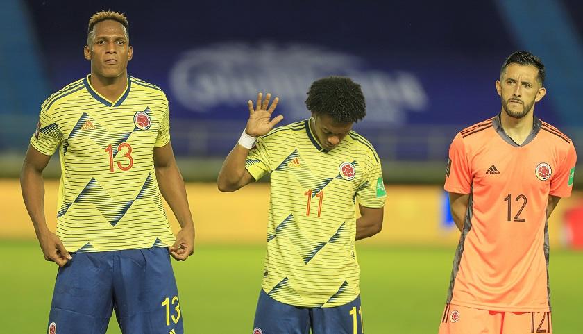¡Equipo que gana...! Así formaría Colombia esta noche de martes ante Chile