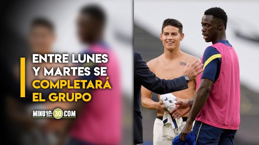 En vuelo charter viajan 16 jugadores de la Seleccion Colombia con destino a Barranquilla
