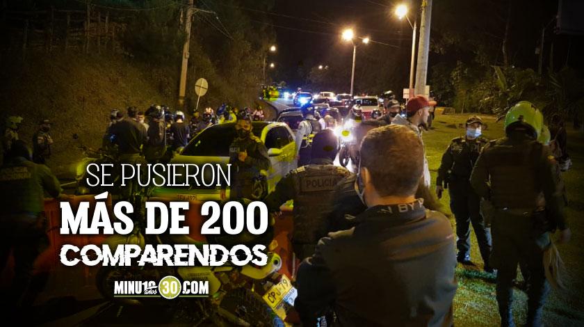 Es que no aprenden En nuevo operativo contra piques inmovilizan 42 motos en Las Palmas