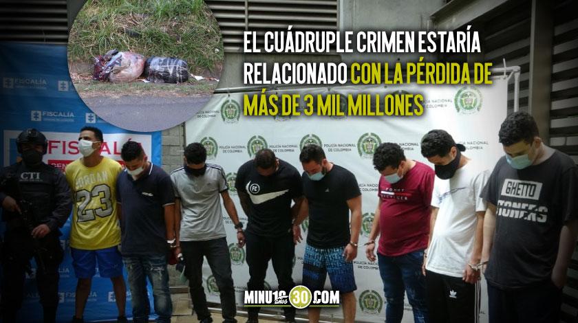 FISCALIA ESCLARECE HOMICIDIO DE 3 MUJERES Y UN HOMBRE CUYOS CUERPOS